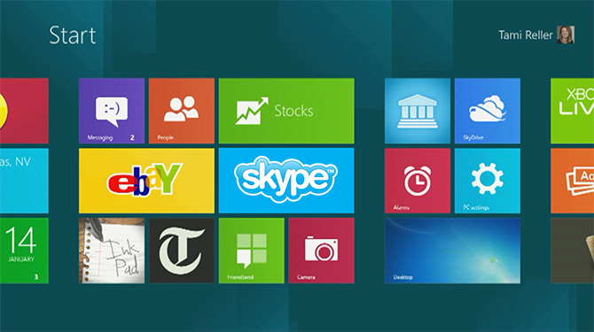 Анонс Skype для Windows 8