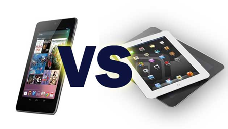 Краш-тест: iPad mini vs Nexus 7