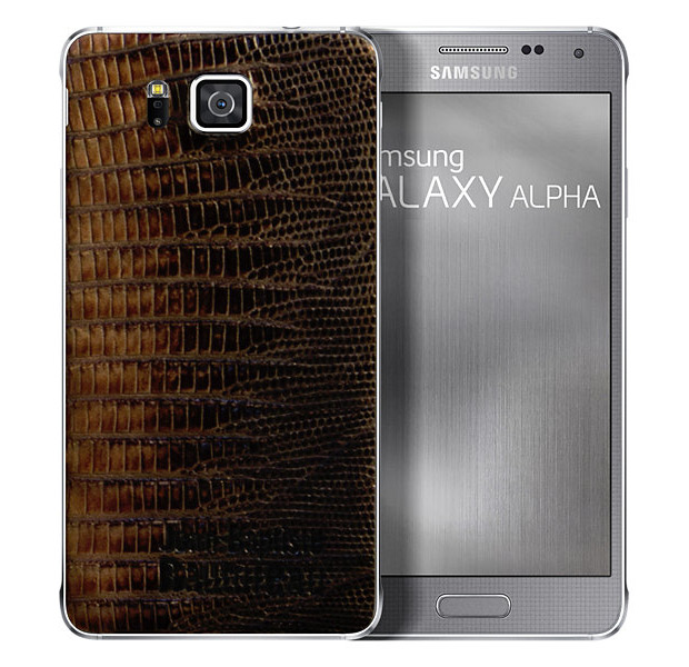 Кожаный Samsung Galaxy Alpha