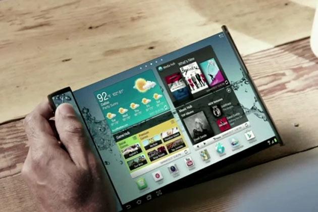 Samsung будет изготавливать смартфоны с раздвижным дисплеем