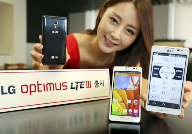 LG представила Optimus LTE III