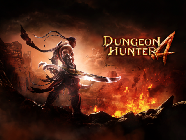 Dungeon Hunter 4 — бой с демонами