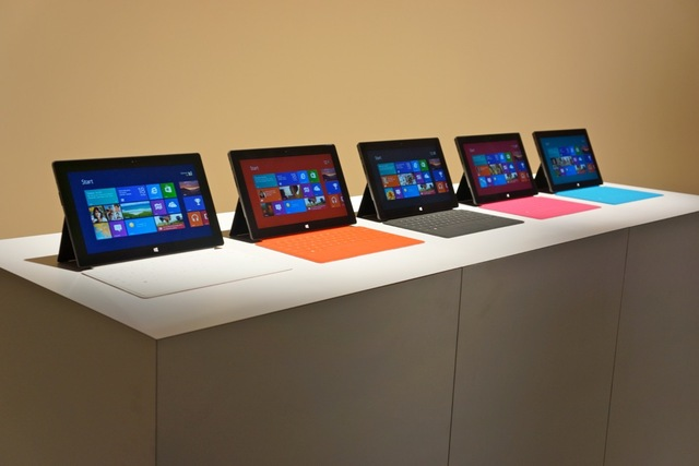 На старт, внимание, марш — Microsoft Surface в России